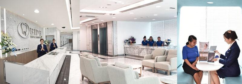 BIDH bangkok dental lobby