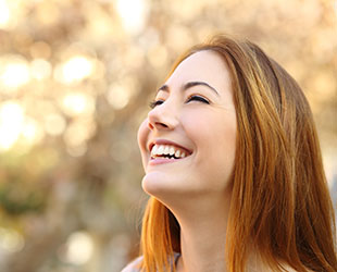 Aesethetic dental treatment